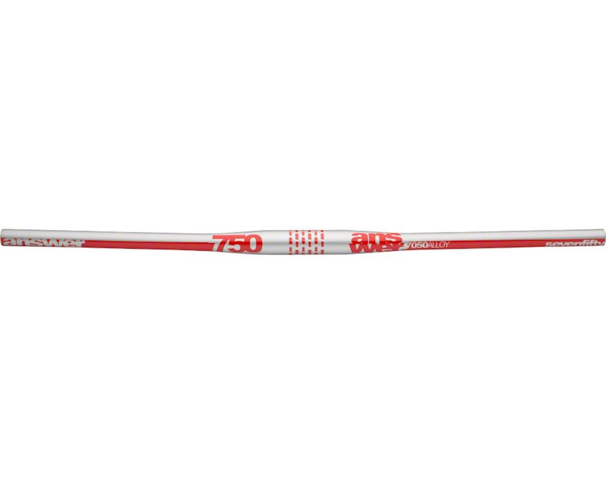 Answer Products Answer ProTAPER 750 Handlebar Flat 31.8 Silver/Red