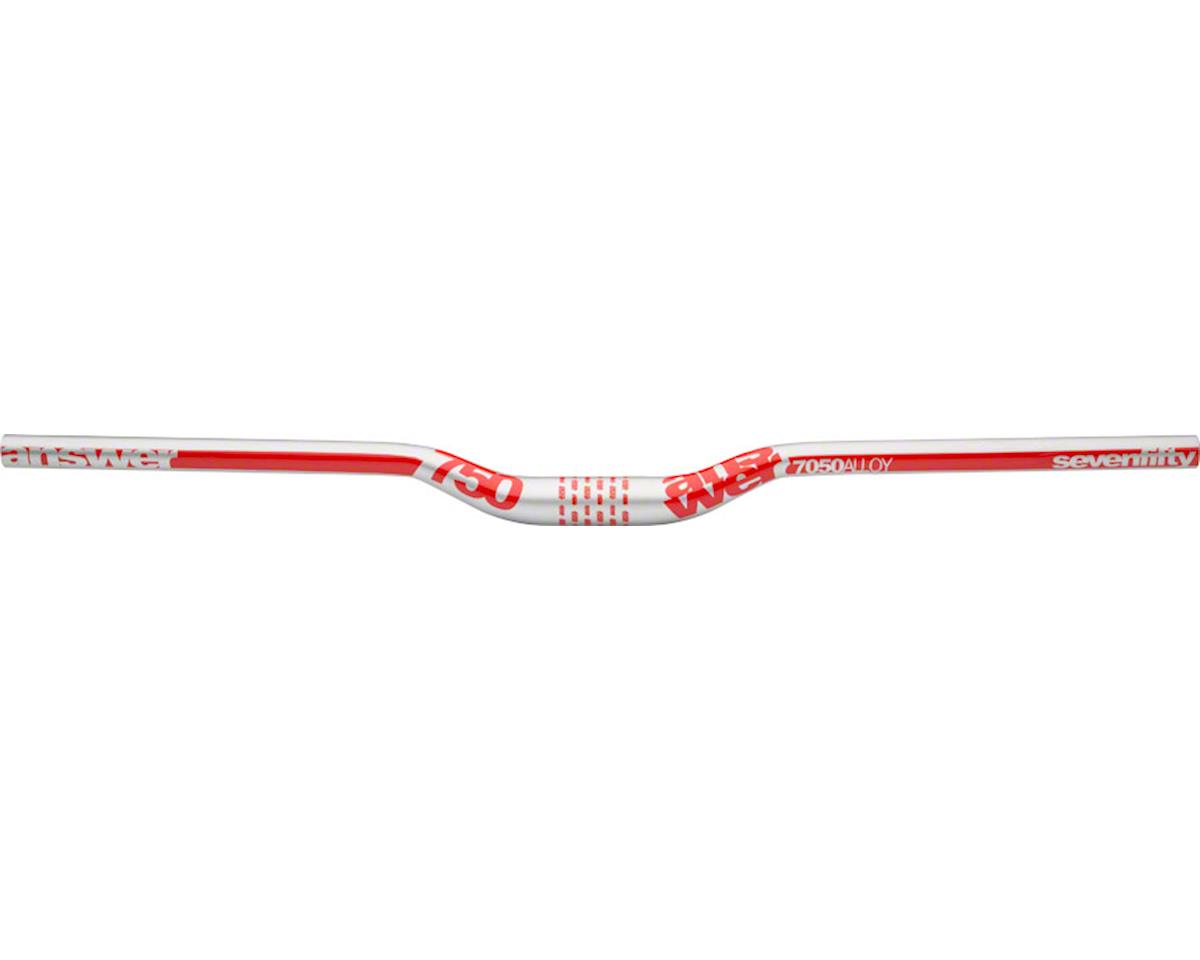 "Answer ProTAPER 750 Handlebar 1"" Rise 31.8 Silver/Red"
