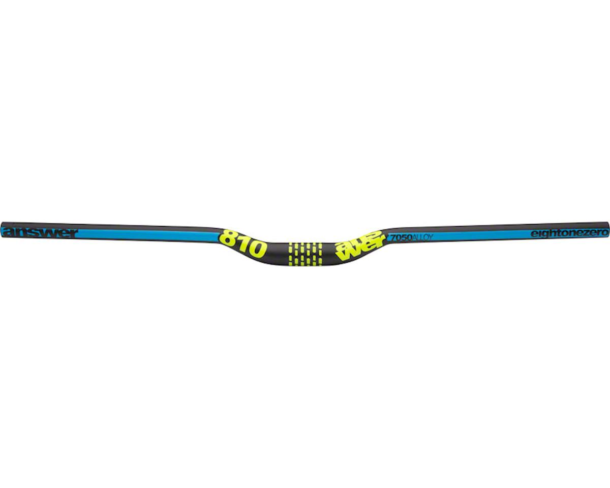"Answer ProTAPER 810 Handlebar 1"" Rise 31.8 Cyan/Yellow"