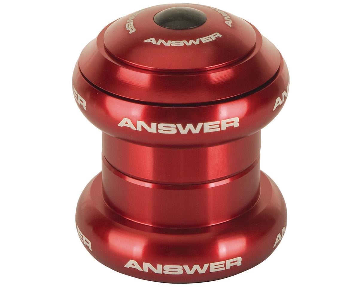 "Answer BMX Standard Headset (Red) (1"" Mini)"