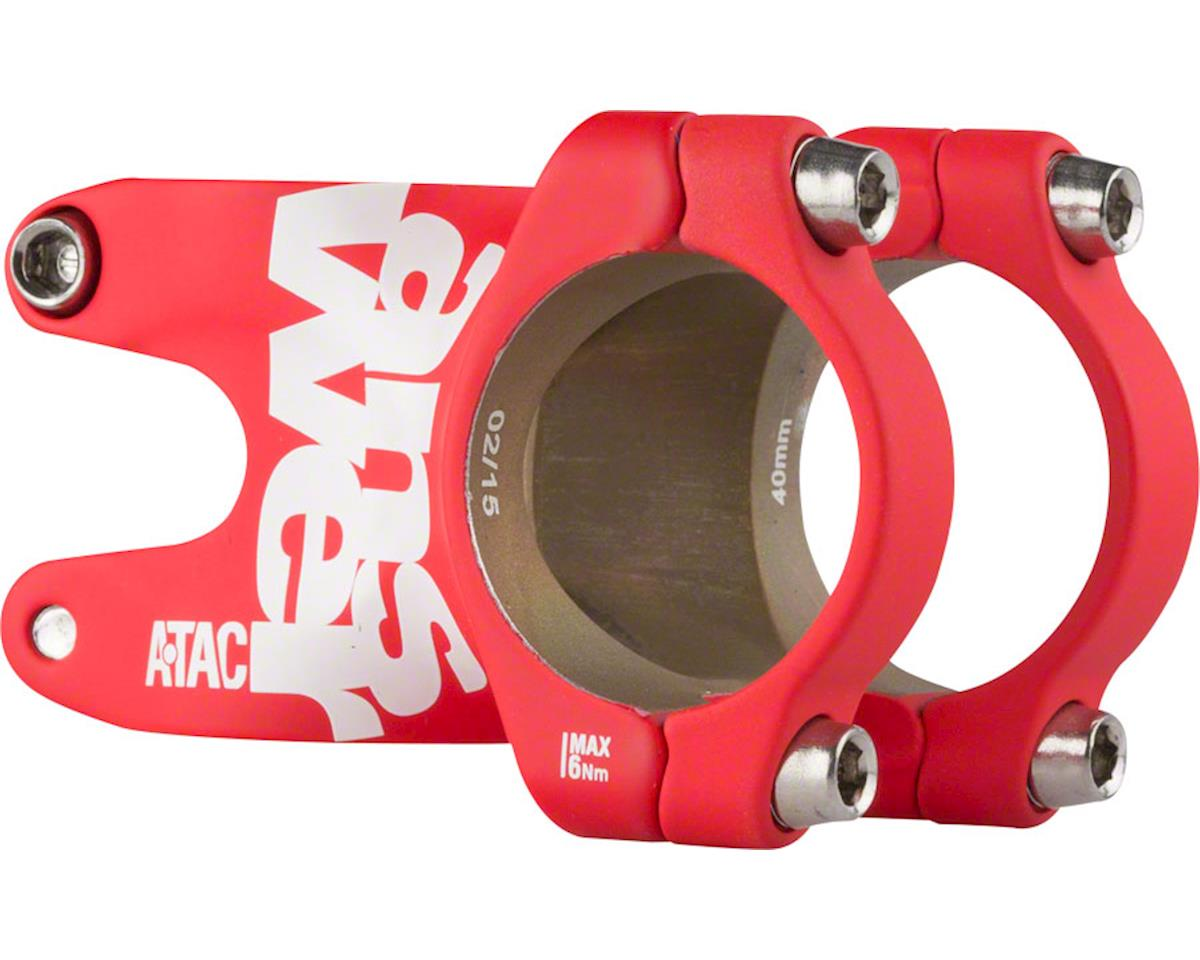 Answer ATAC AME 31.8 Stem 40mm +/- 0 Degree, Red