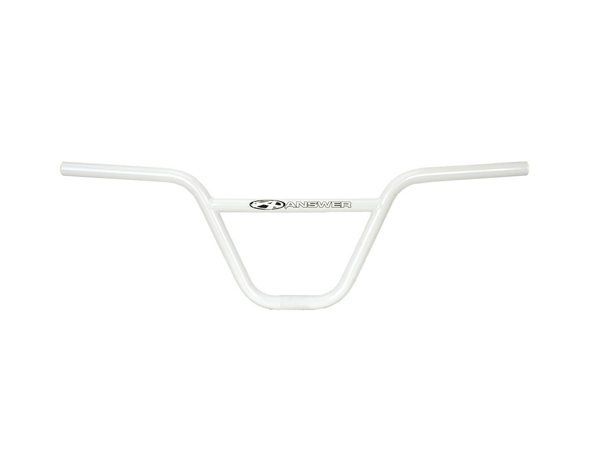Answer Products Pro Flat Chromoly Bars (Pro) (White)