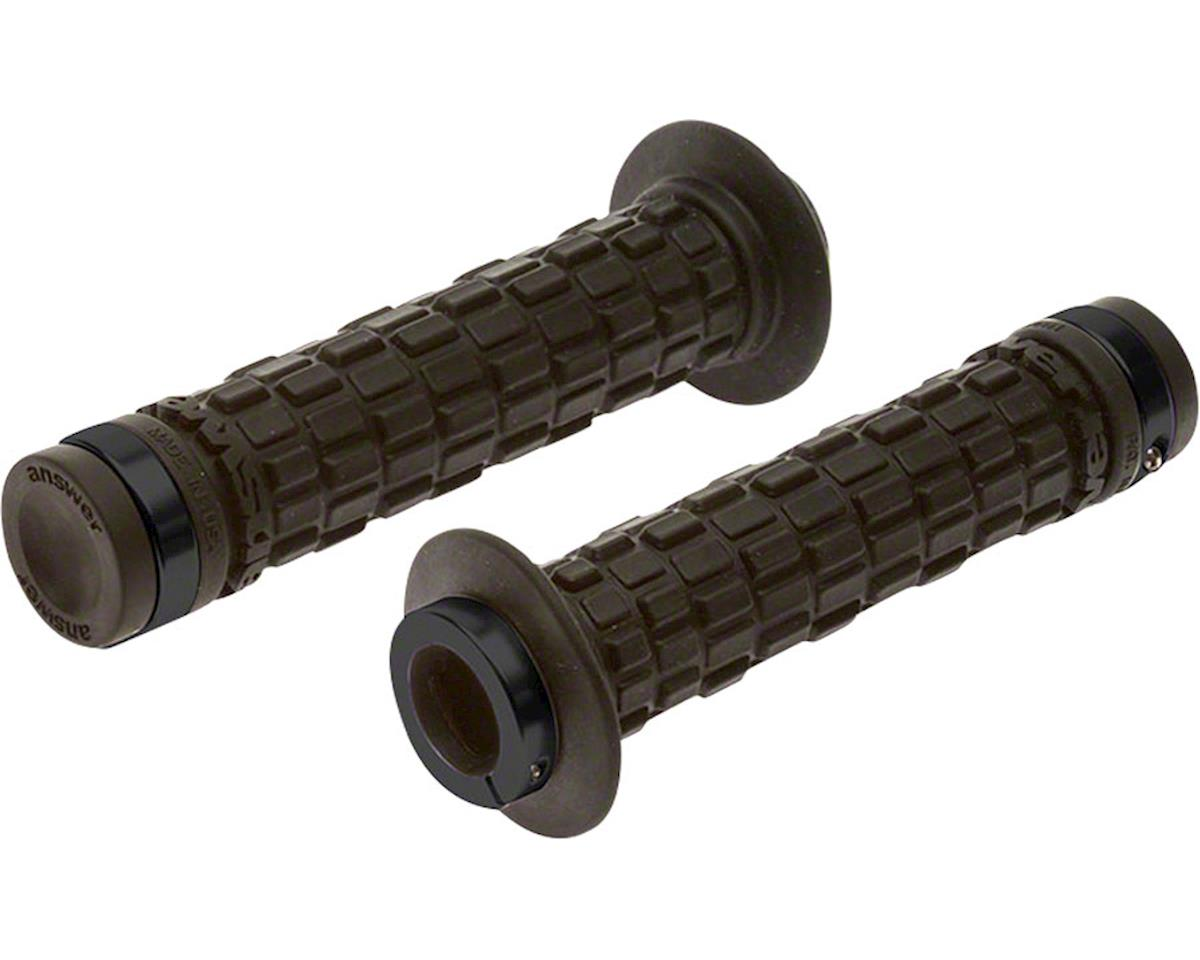 Answer Tread Locking Grips Black with Black Clamps