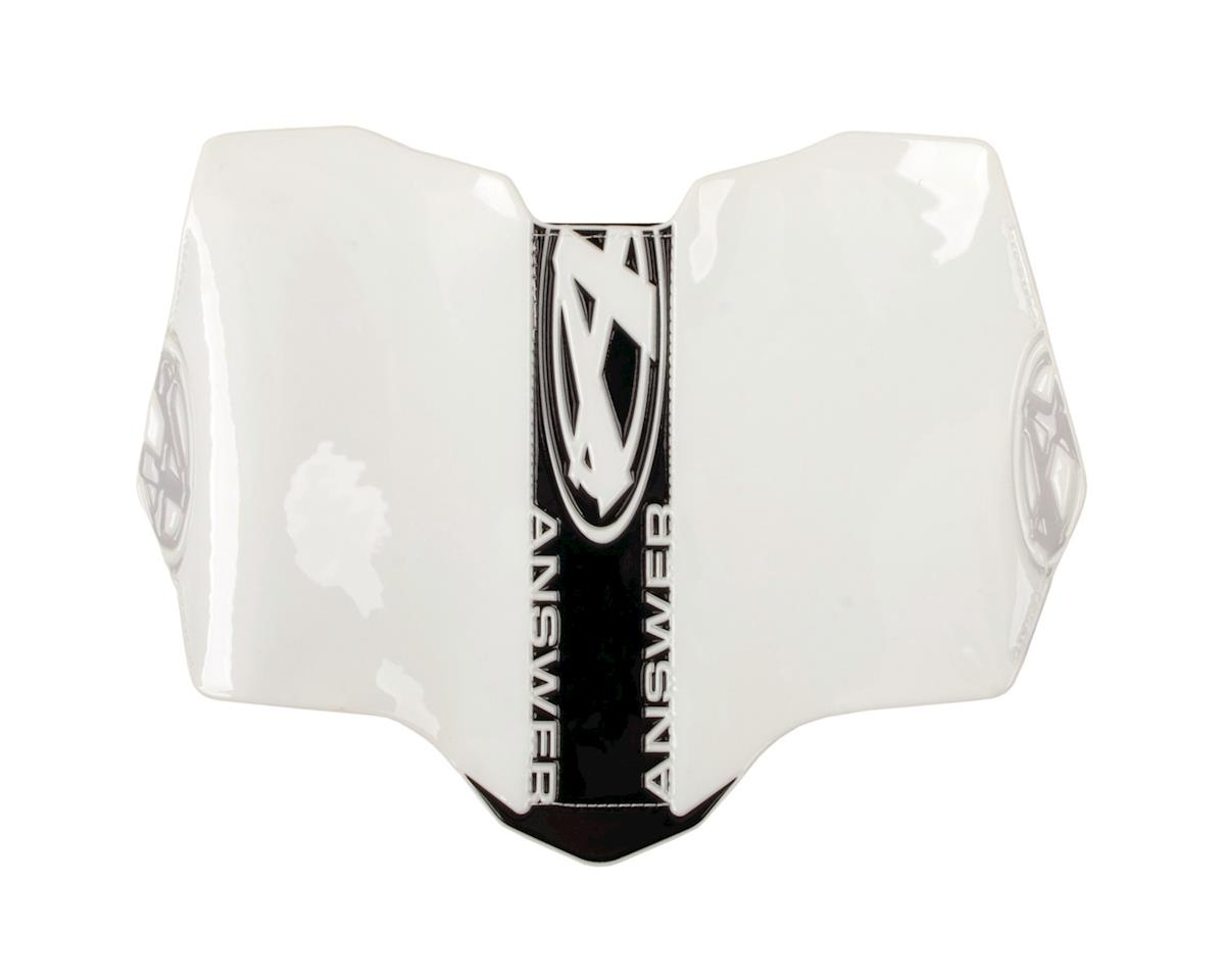 Answer Side Number Plate (Pro) (Black/White)