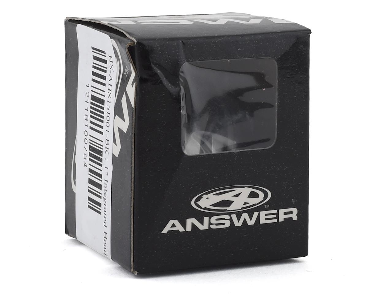 """Answer Integrated Headset (Black) (1"""")"""
