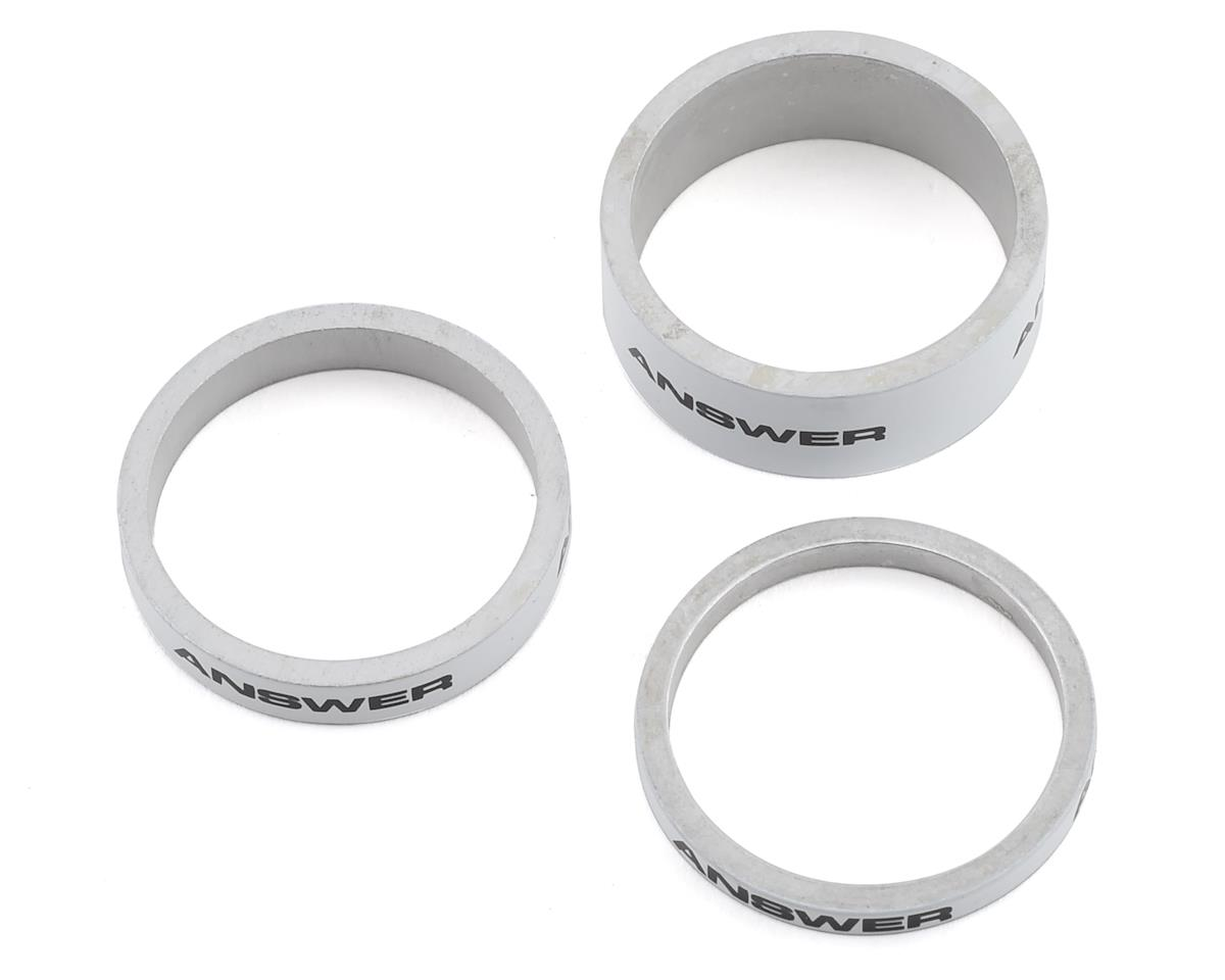 "Answer Alloy Spacer (White) (3 Pack) (1"")"
