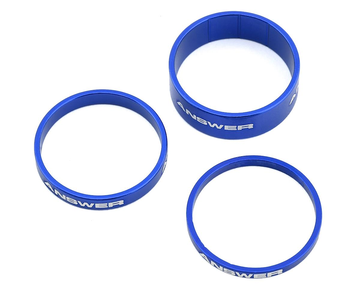 """Answer Alloy Spacer (Blue) (3 Pack) (1-1/8"""")"""