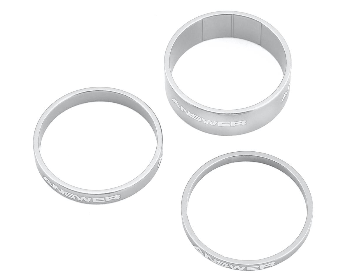 "Answer Alloy Spacer (Polished) (3 Pack) (1-1/8"")"