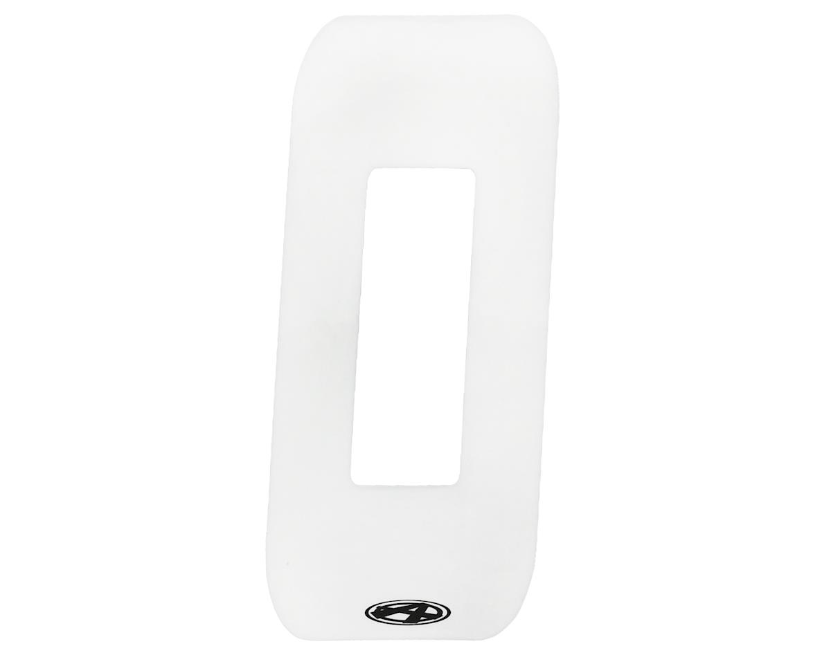"""Answer 4"""" Number Plate Stickers (White) (0)"""
