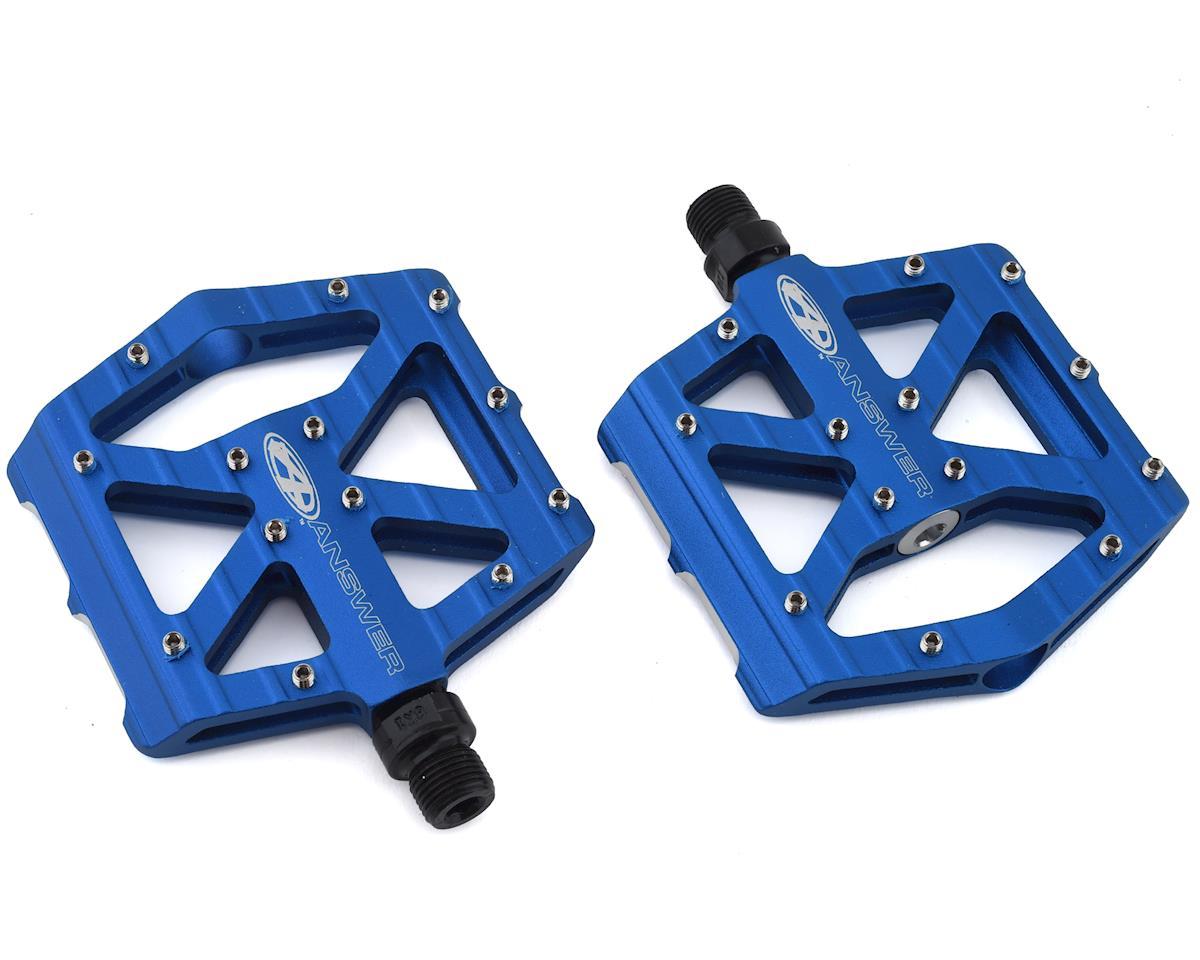 Answer MPH JR Flat Pedals (Blue)