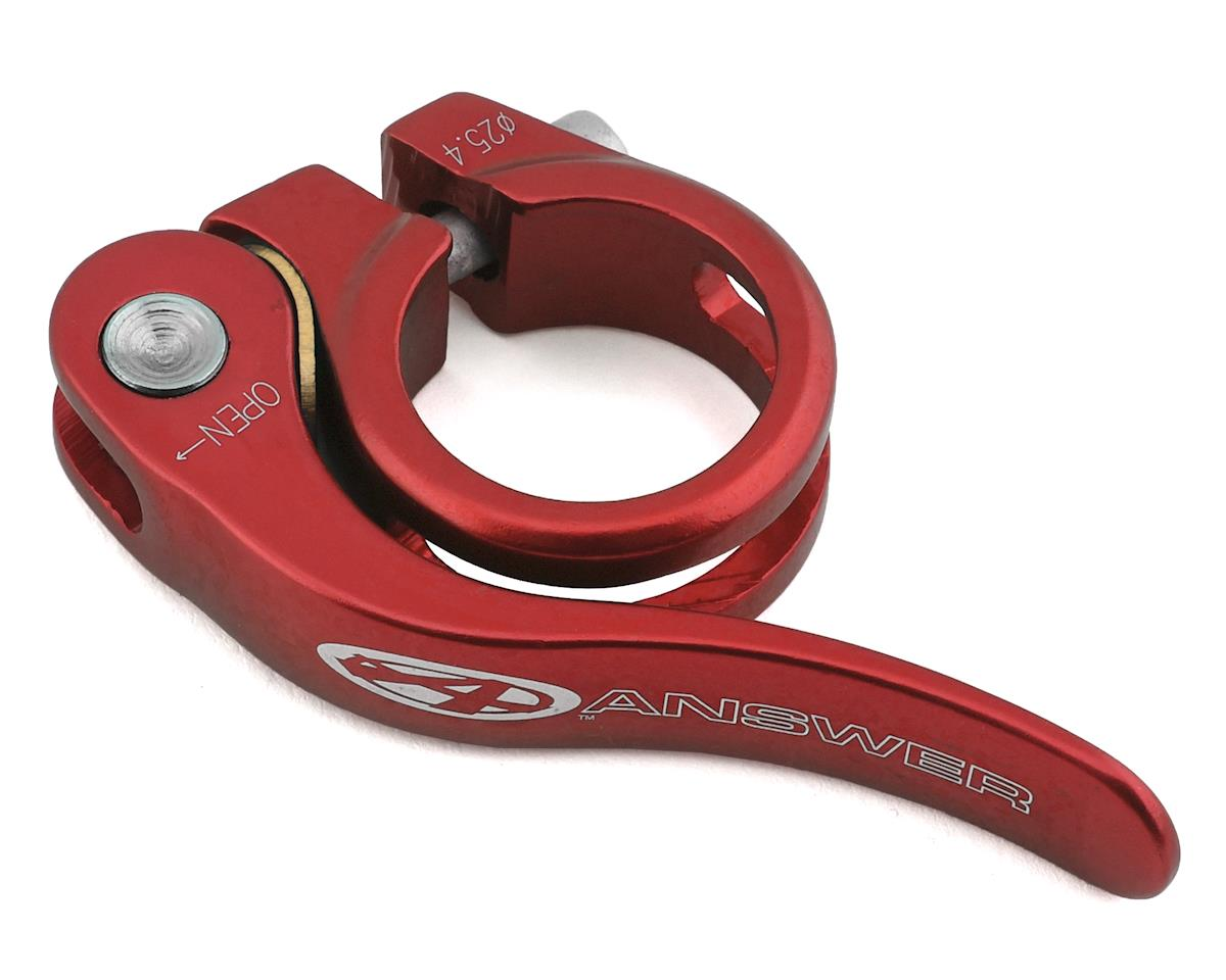 Answer Mini QR Seat Clamp (Red)