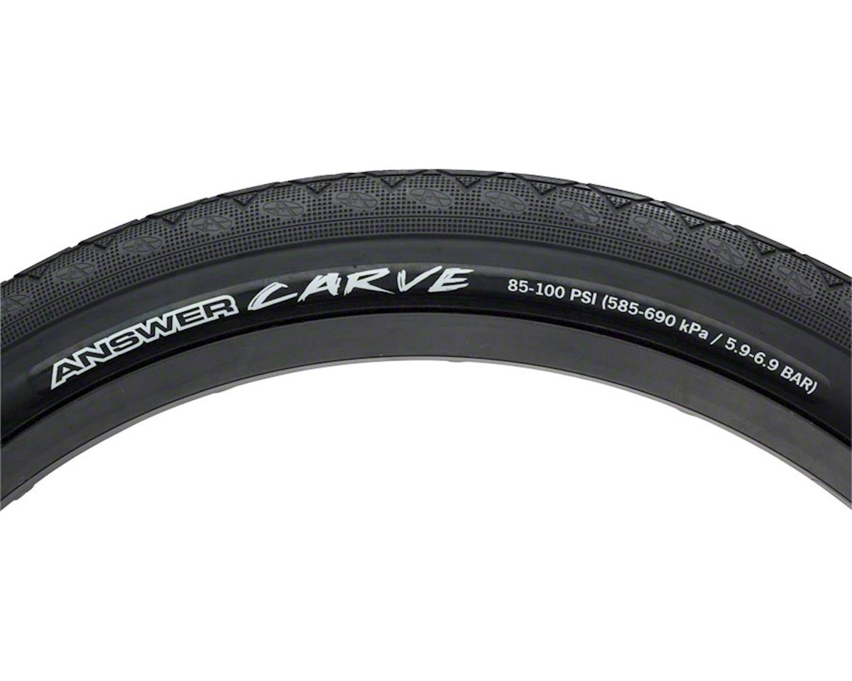 "Answer BMX Carve Tire 20"" x 1.85"" Black"
