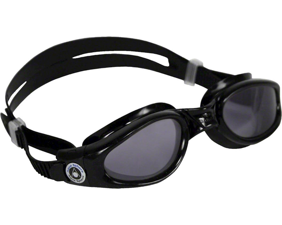 Aqua Sphere Kaiman Goggles: Black with Smoke Lens