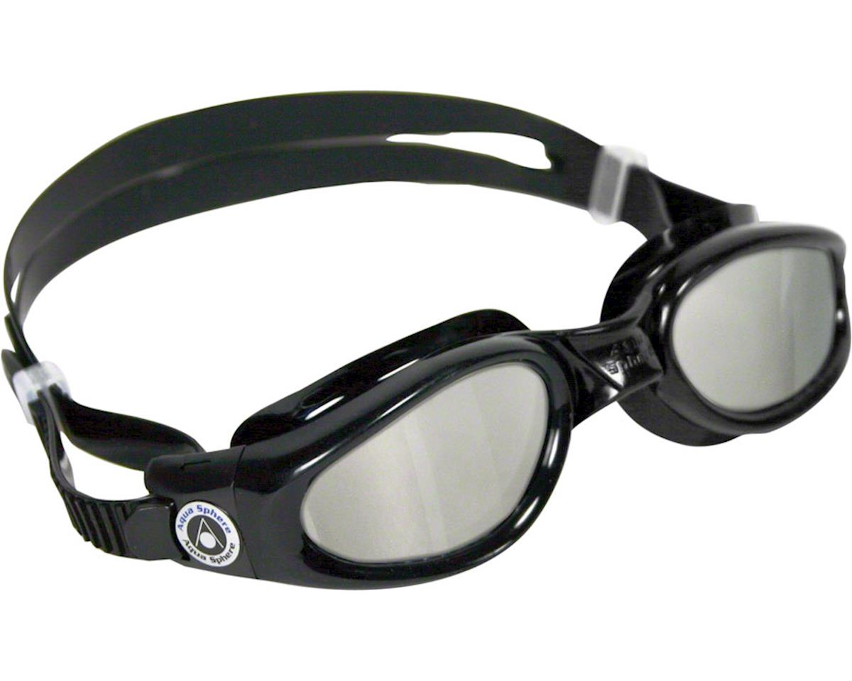 Aqua Sphere Kaiman Goggles: Black with Mirror Lens
