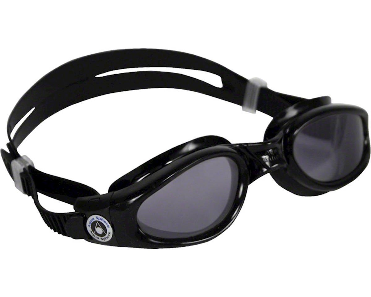 Aqua Sphere Kaiman SF Goggles: Black with Smoke Lens