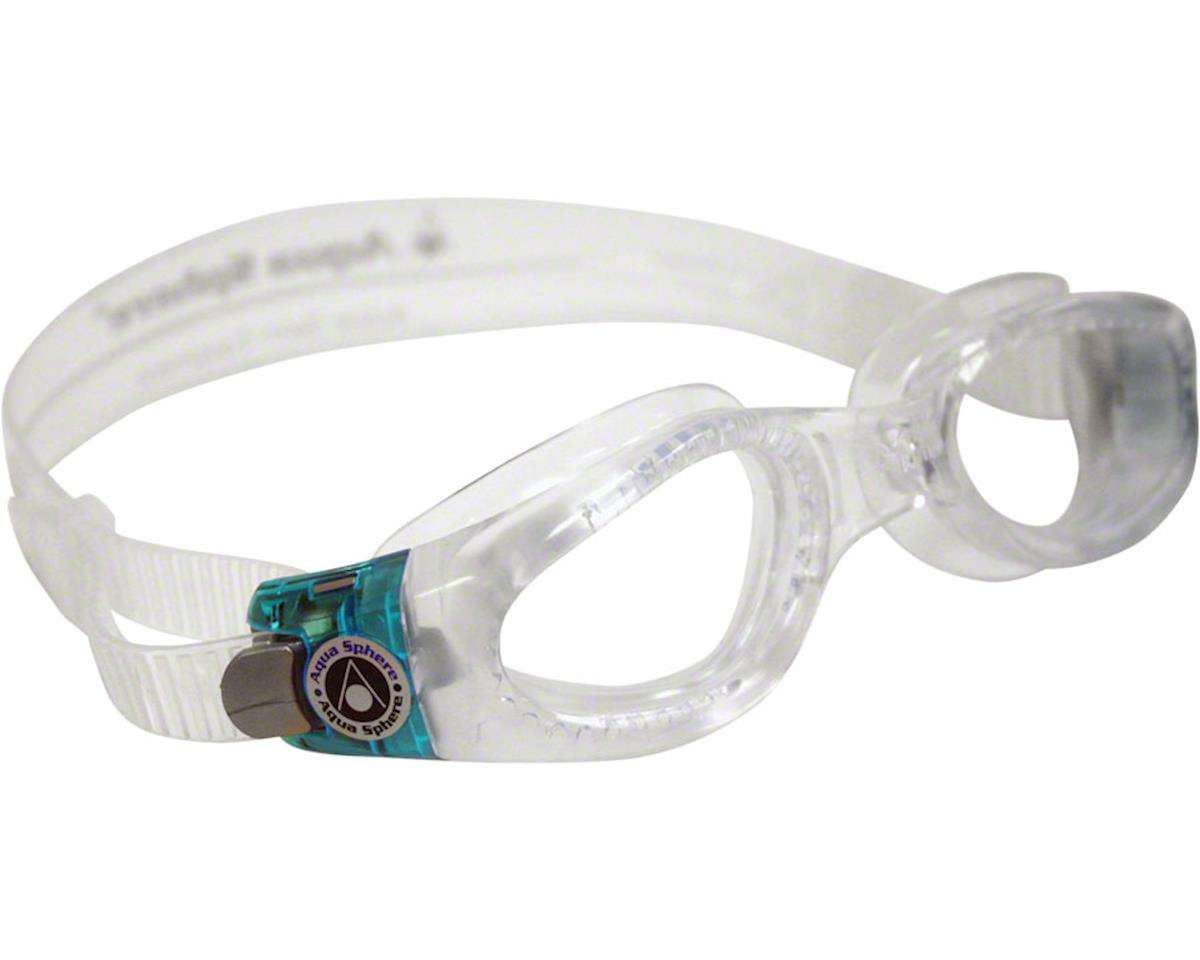 Aqua Sphere Kaiman Lady Goggles: Clear/Aqua with Clear Lens