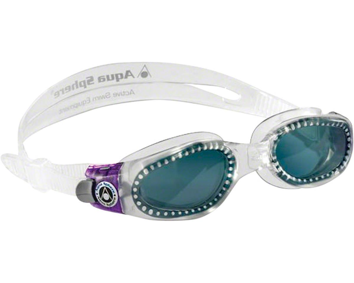 Aqua Sphere Kaiman Lady Goggles: Clear/Purple with Smoke Lens