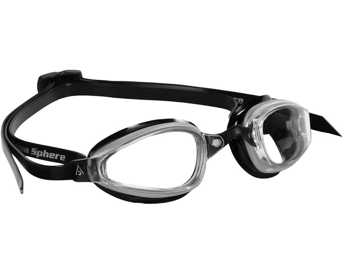 Aqua Sphere Michael Phelps K-180 Goggles: Black/Clear with Clear Lens