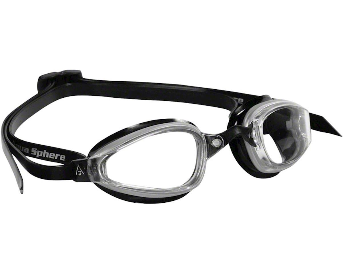 Michael Phelps K-180 Goggles: Black/Clear with Clear Lens