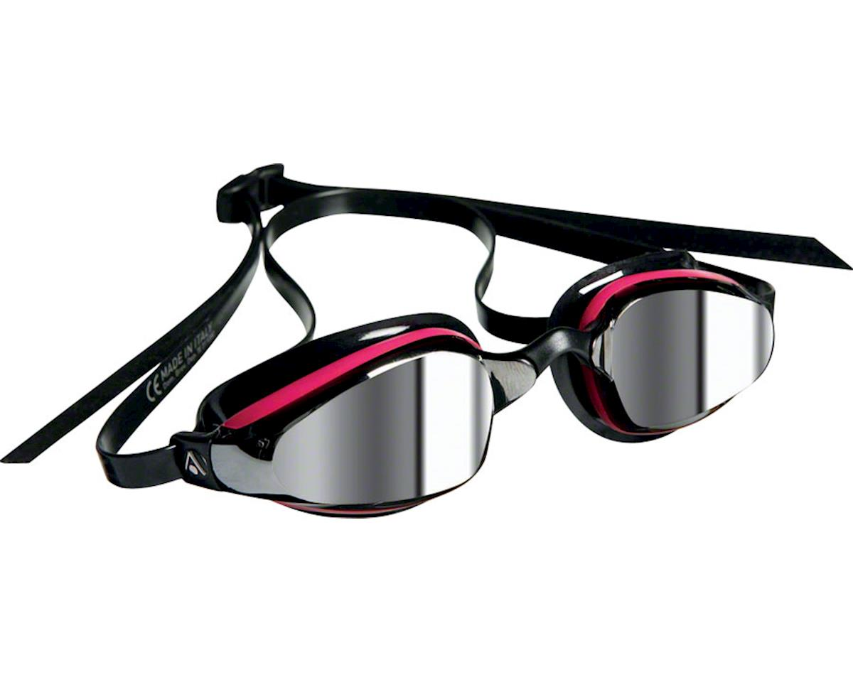 Aqua Sphere Michael Phelps K-180 Lady Goggles: Pink/Black with Mirror Lens