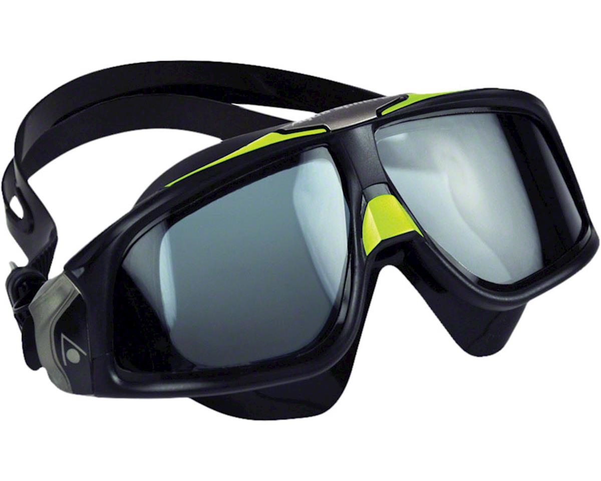 Aqua Sphere Seal 2.0 Goggles: Black/Green with Smoke Lens