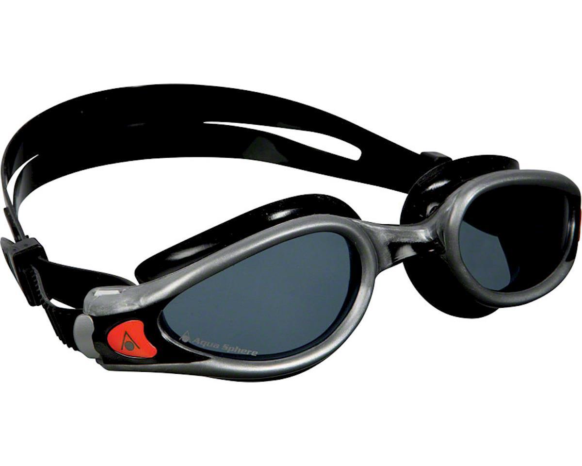 Aqua Sphere Kaiman EXO Goggles: Silver/Black with Smoke Lens