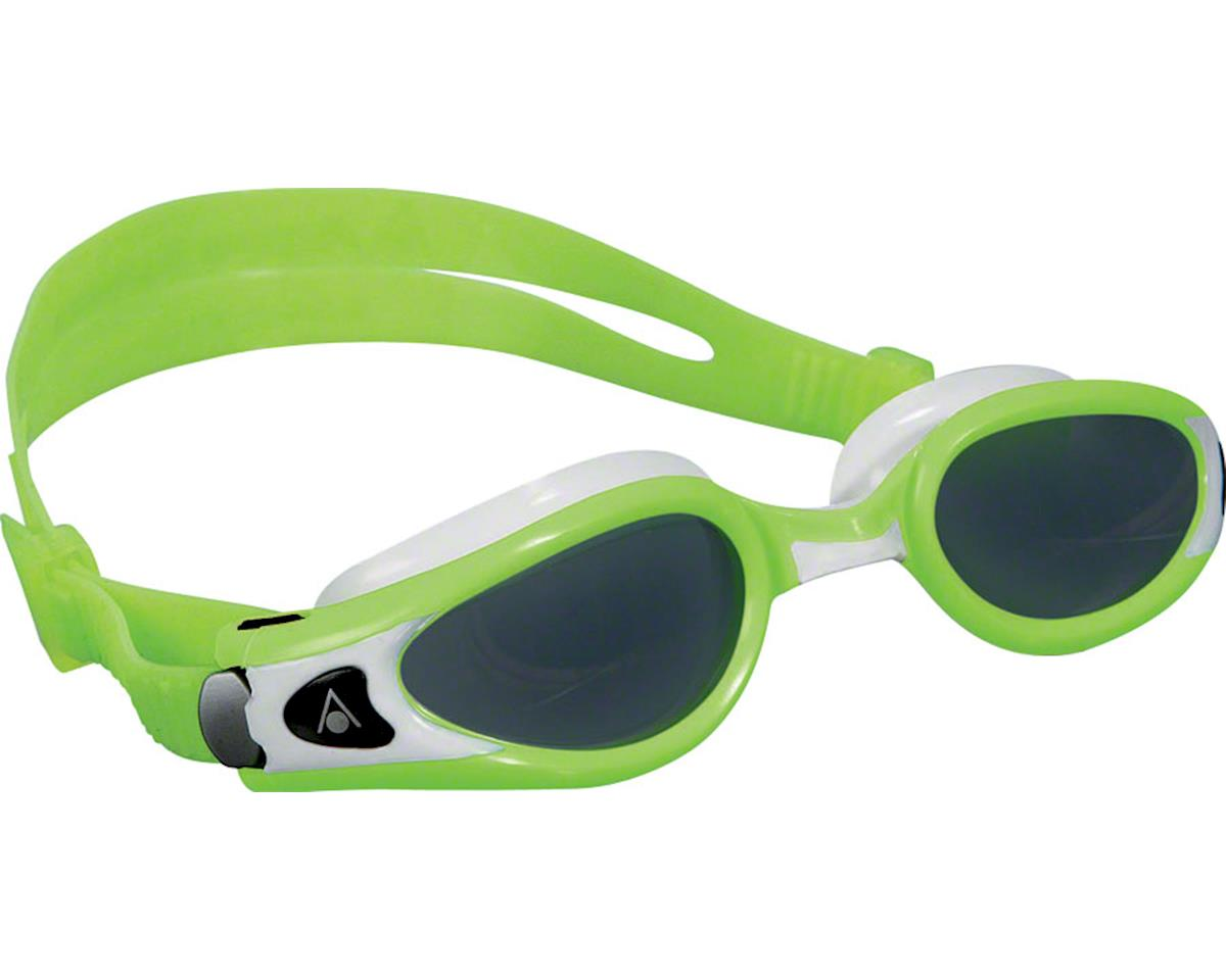 Aqua Sphere Kaiman EXO SF Goggles: Lime/White with Smoke Lens