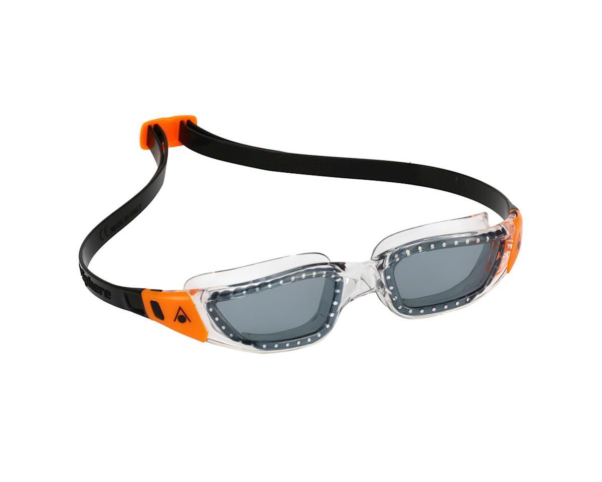 cc3371876 Aqua Sphere Kameleon Goggles  Clear Orange with Smoke Lens  EP132119 ...