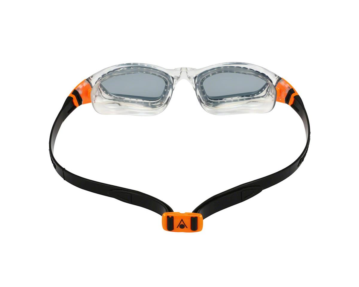 Aqua Sphere Kameleon Goggles: Clear/Orange with Smoke Lens