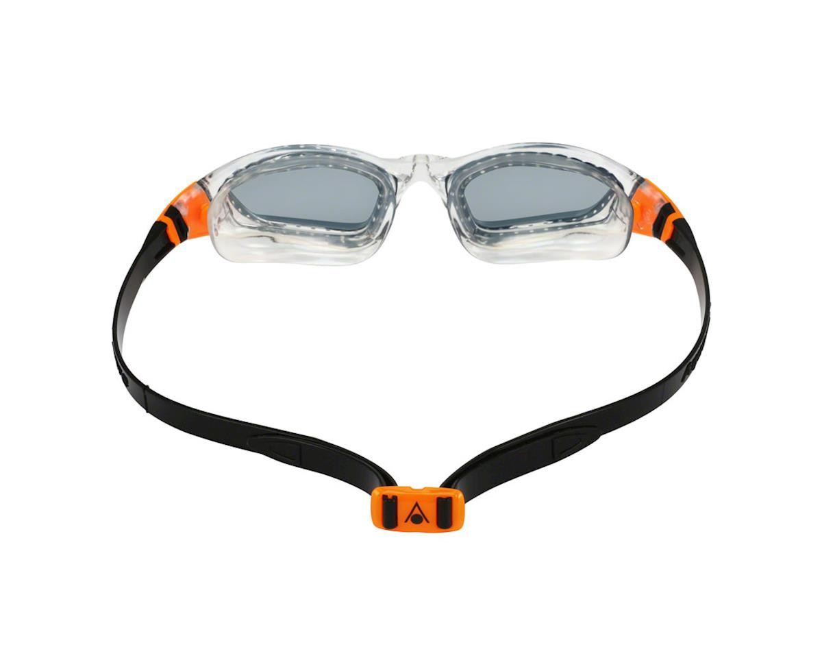 Aqua Sphere Kameleon Goggles: Clear/Orange with Smoke Lens