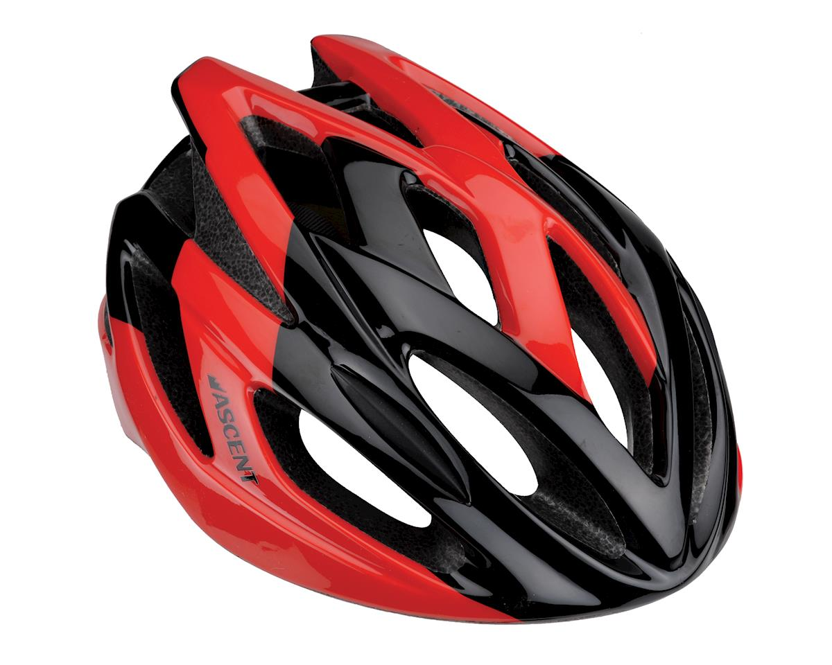 Image 1 for Ascent Corso Road Helmet (Black/Red)