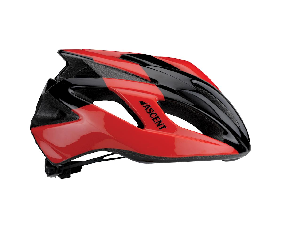 Image 2 for Ascent Corso Road Helmet (Black/Red)