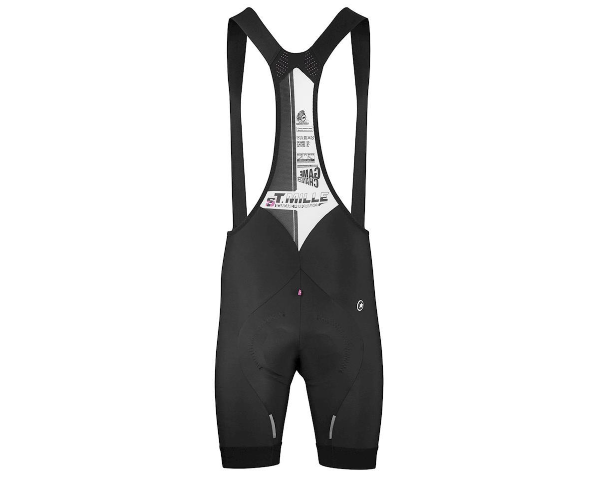 Assos T.mille s7 Cycling Bib Shorts (Black Series) (XLG)