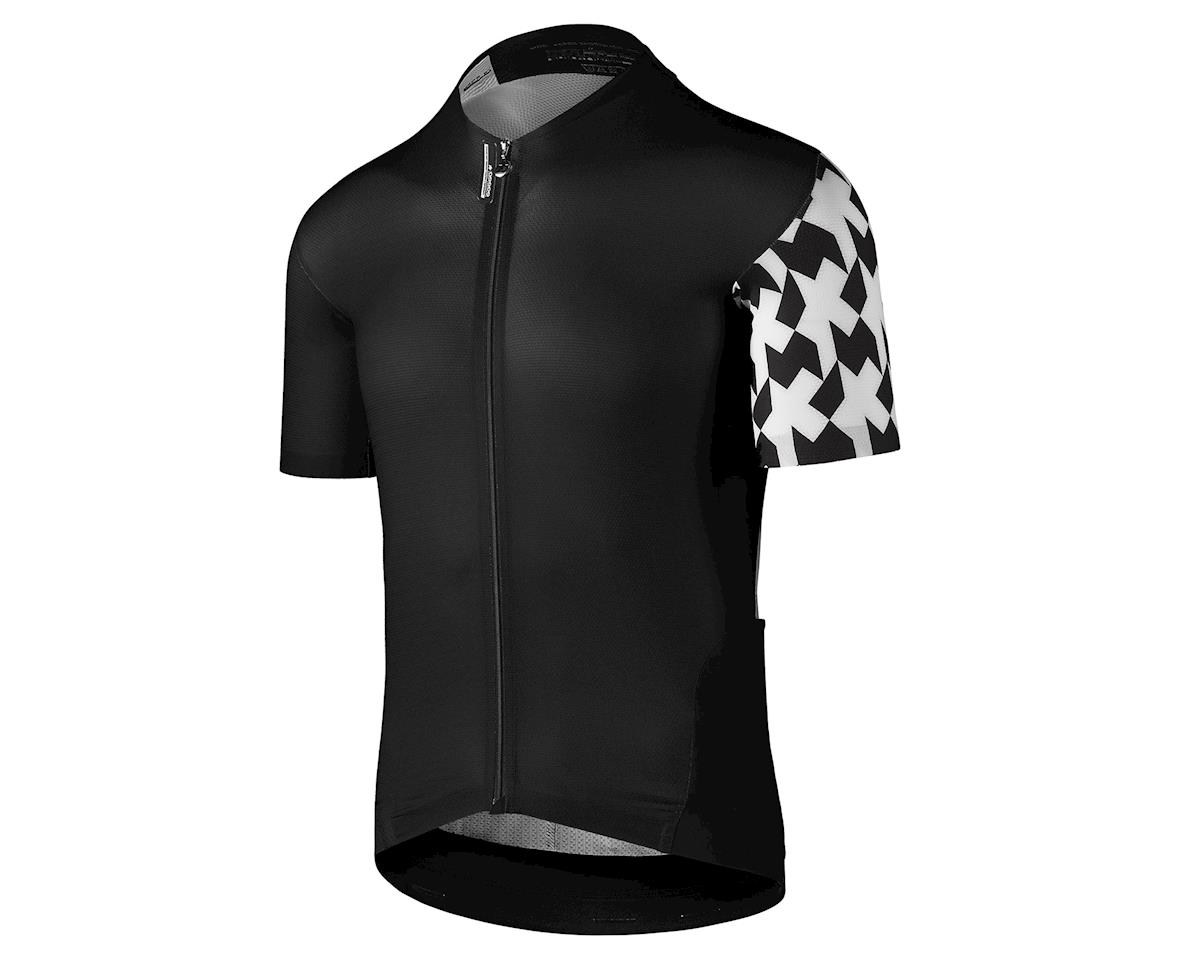 Assos SS.equipe evol8 Men's Cycling Jersey (Black Series) (L)