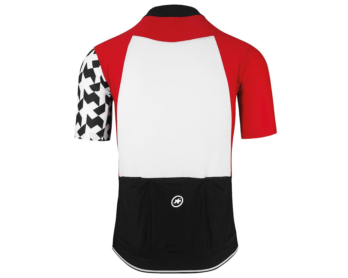 Assos SS.equipe evol8 Men's Cycling Jersey (National Red) (L)