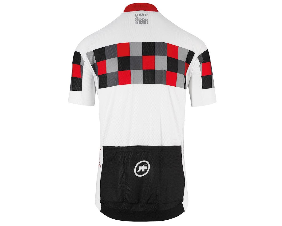 Assos SS.grand prix evol8 Men's Jersey (National Red) (L)