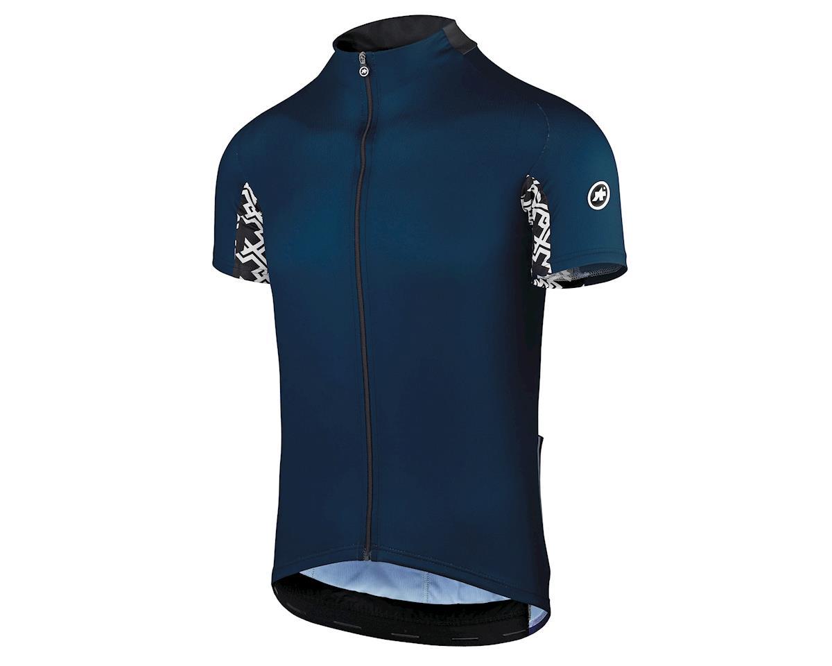 Assos Mille GT Men's Jersey (Caleum Blue) (XL)