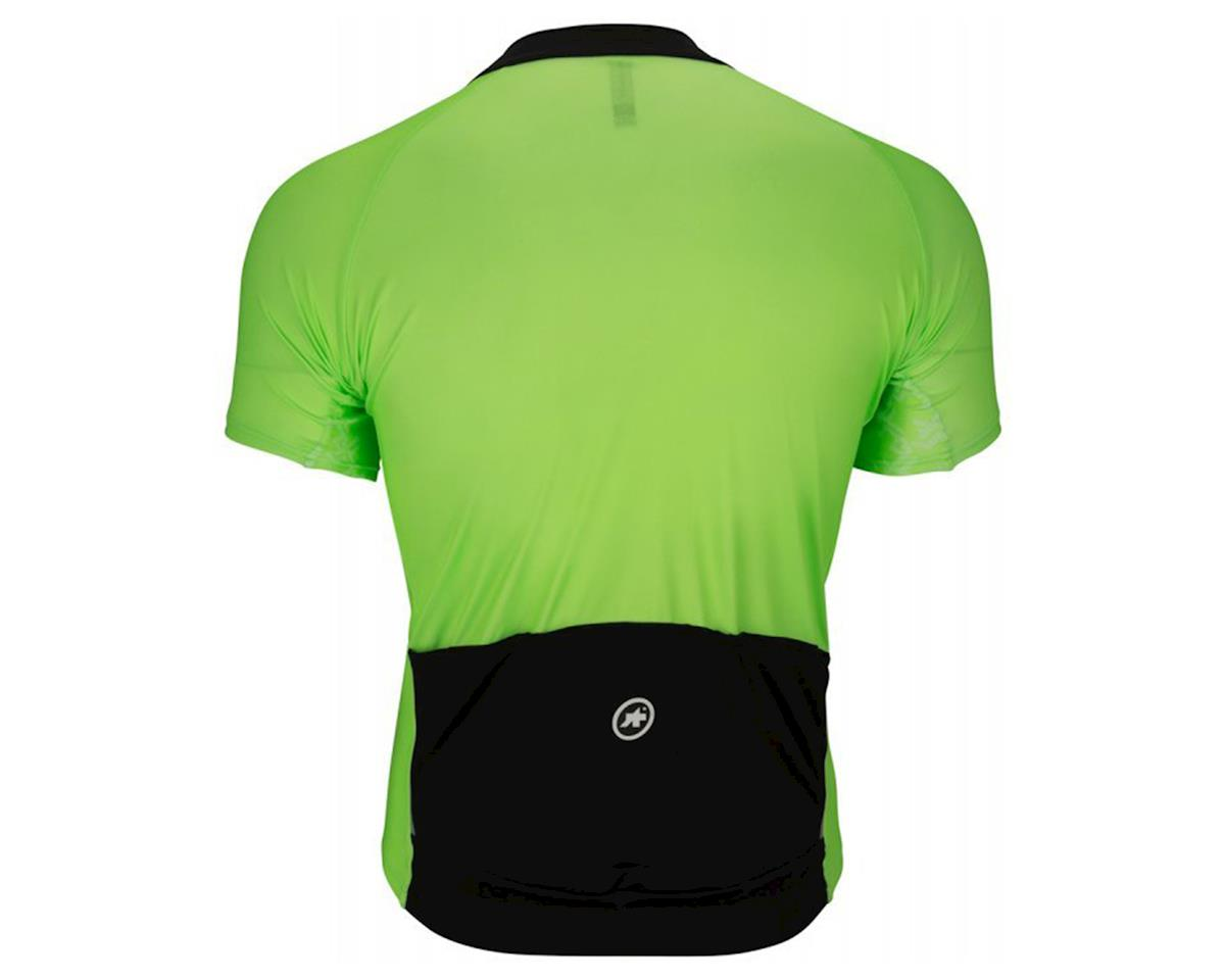 Assos Mille GT Men's Jersey (Visibility Green) (L)