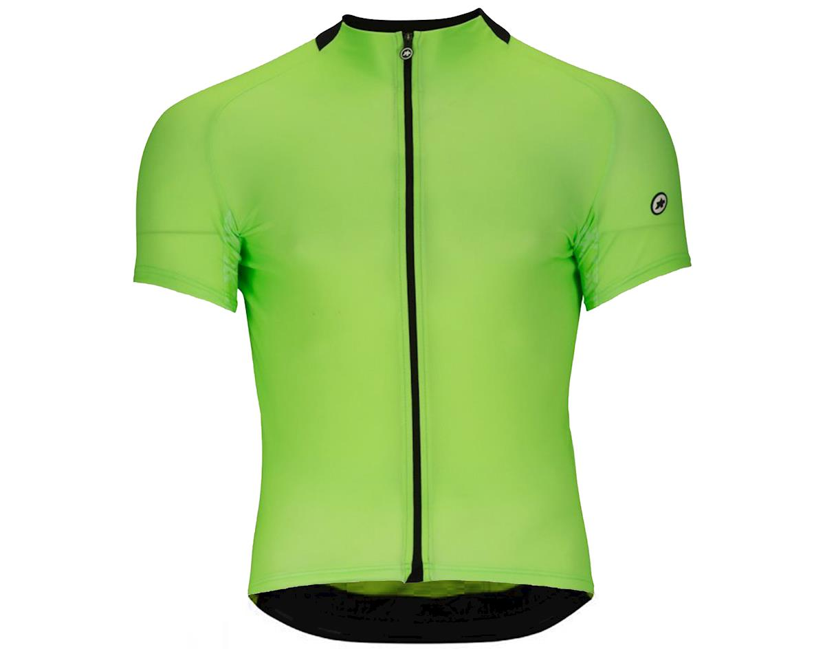 Assos Mille GT Men's Jersey (Visibility Green) (M)