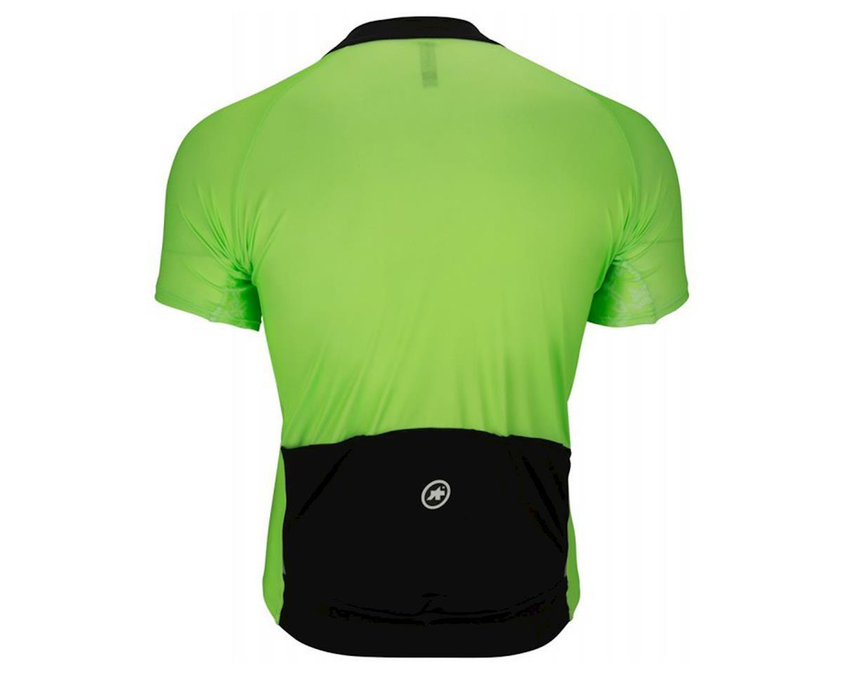 Assos Mille GT Men's Jersey (Visibility Green) (XL)