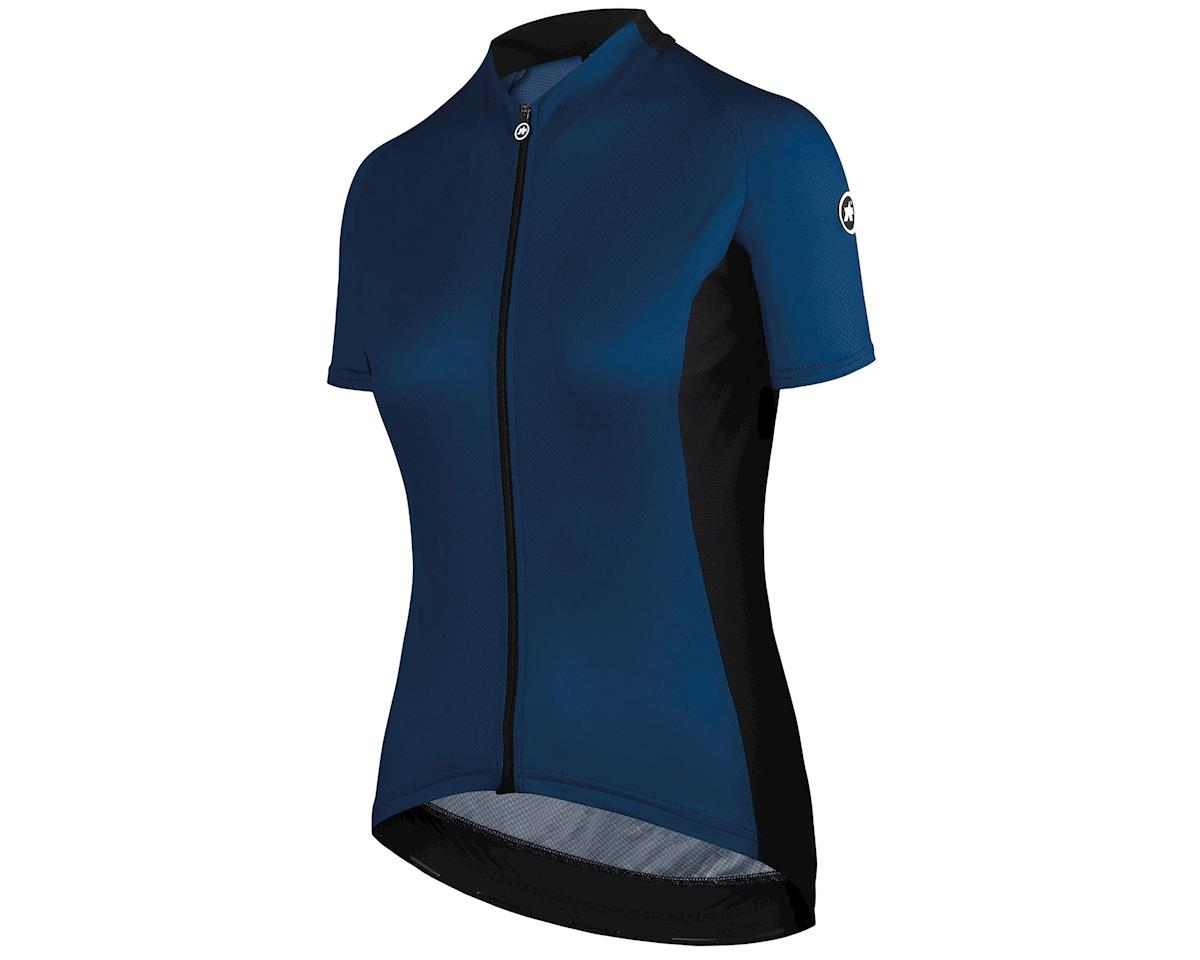 Assos UMA GT Women's Cycling Jersey (Caleum Blue) (XLG)
