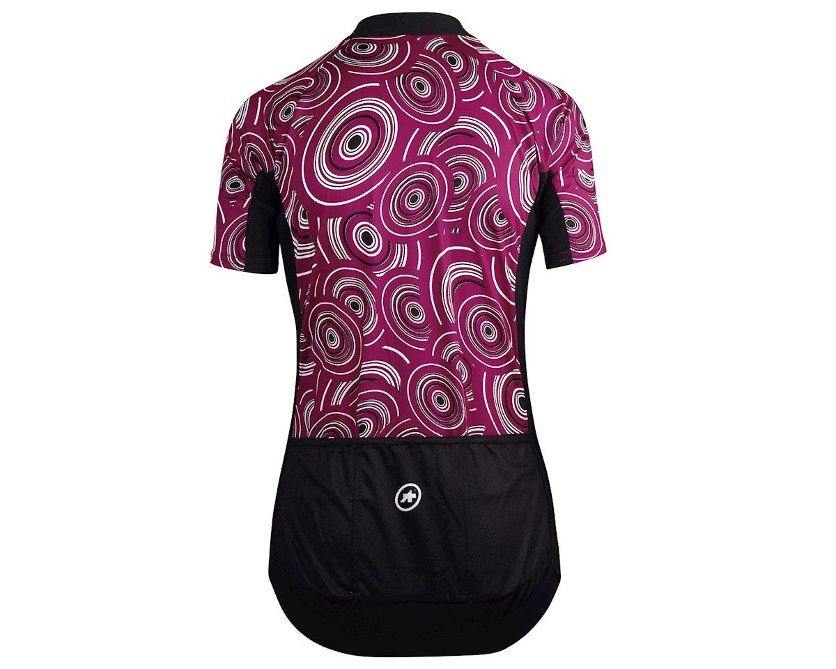 Assos UMA GT Women's Cycling Jersey (Camou Midnight Purple) (M)
