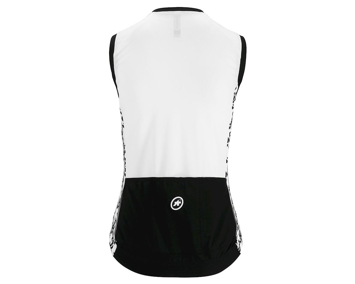 Assos UMA GT Women's Sleeveless Cycling Jersey (Holywhite) (M)