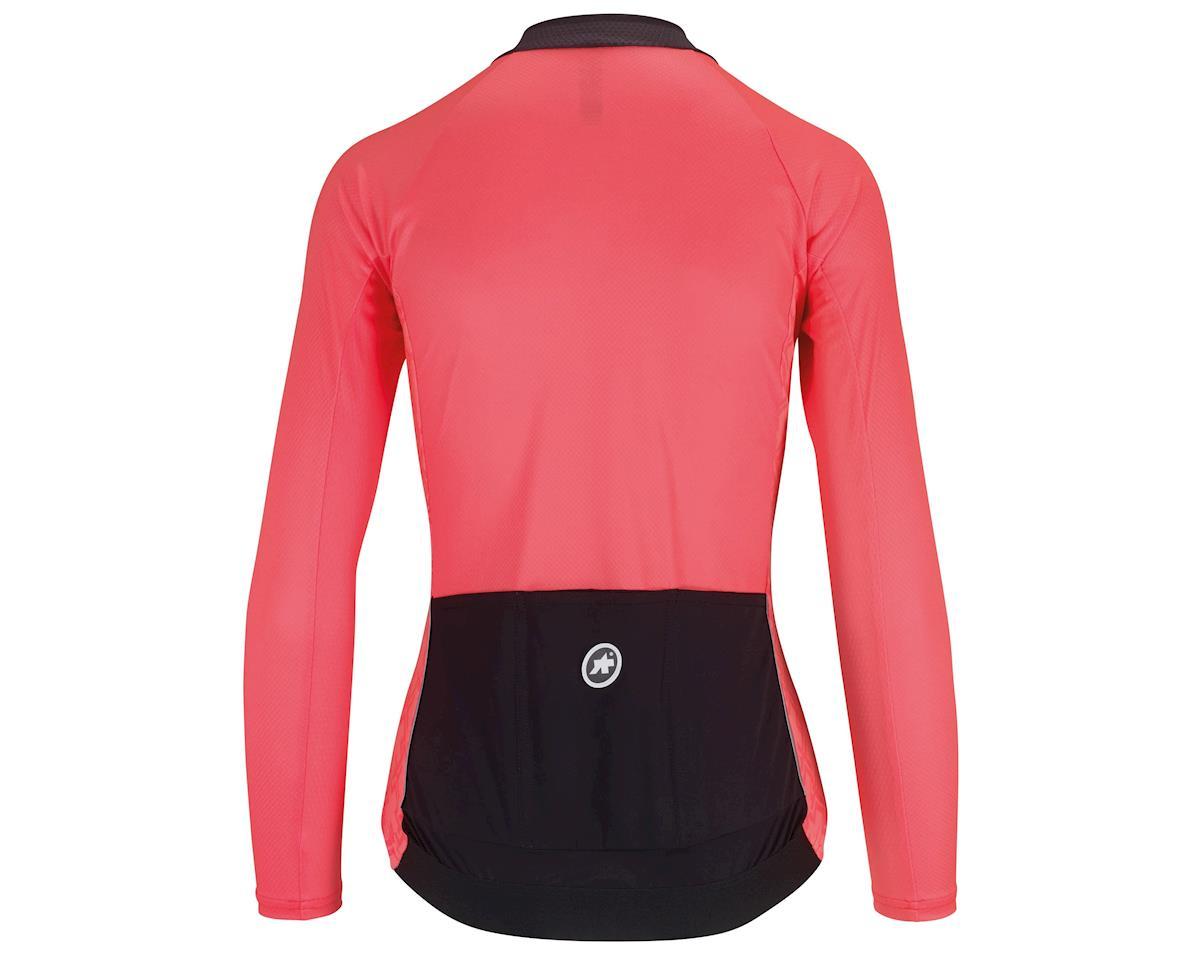 Assos UMA GT Women's Long Sleeve Summer Cycling Jersey (Galaxy Pink) (M)