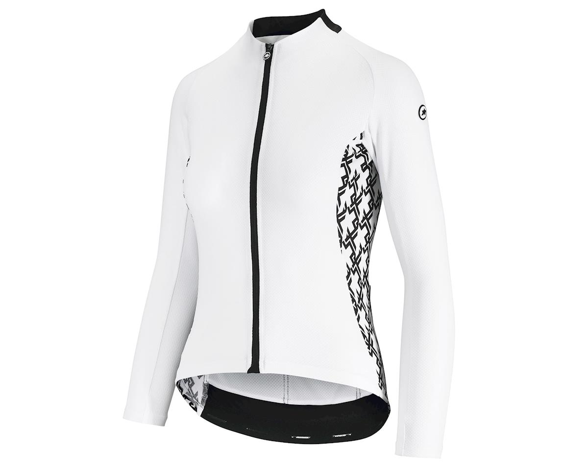 Assos UMA GT Women's Long Sleeve Summer Cycling Jersey (Holywhite) (L)