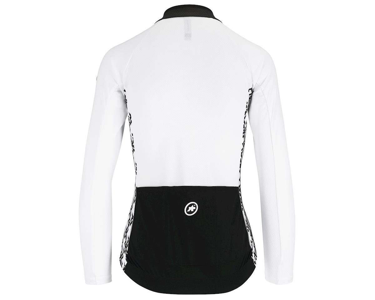 Assos UMA GT Women's Long Sleeve Summer Cycling Jersey (Holywhite) (M)