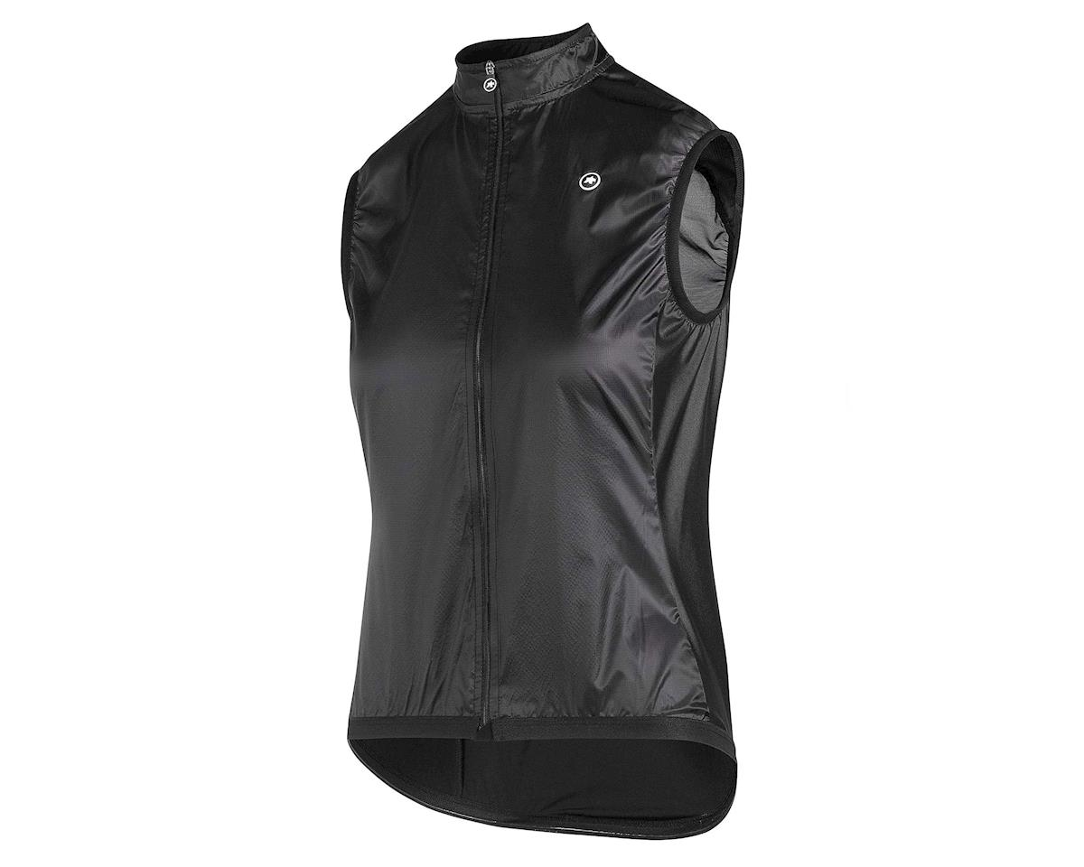 Assos UMA GT Women's Wind Vest (Black Series) (L)