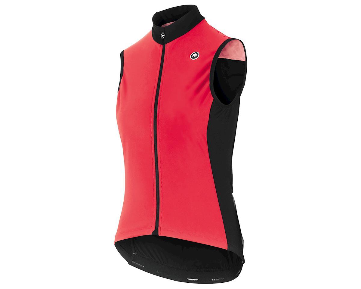 Assos Women's UMA GT Spring/Fall Airblock Vest (Galaxy Pink) (L)