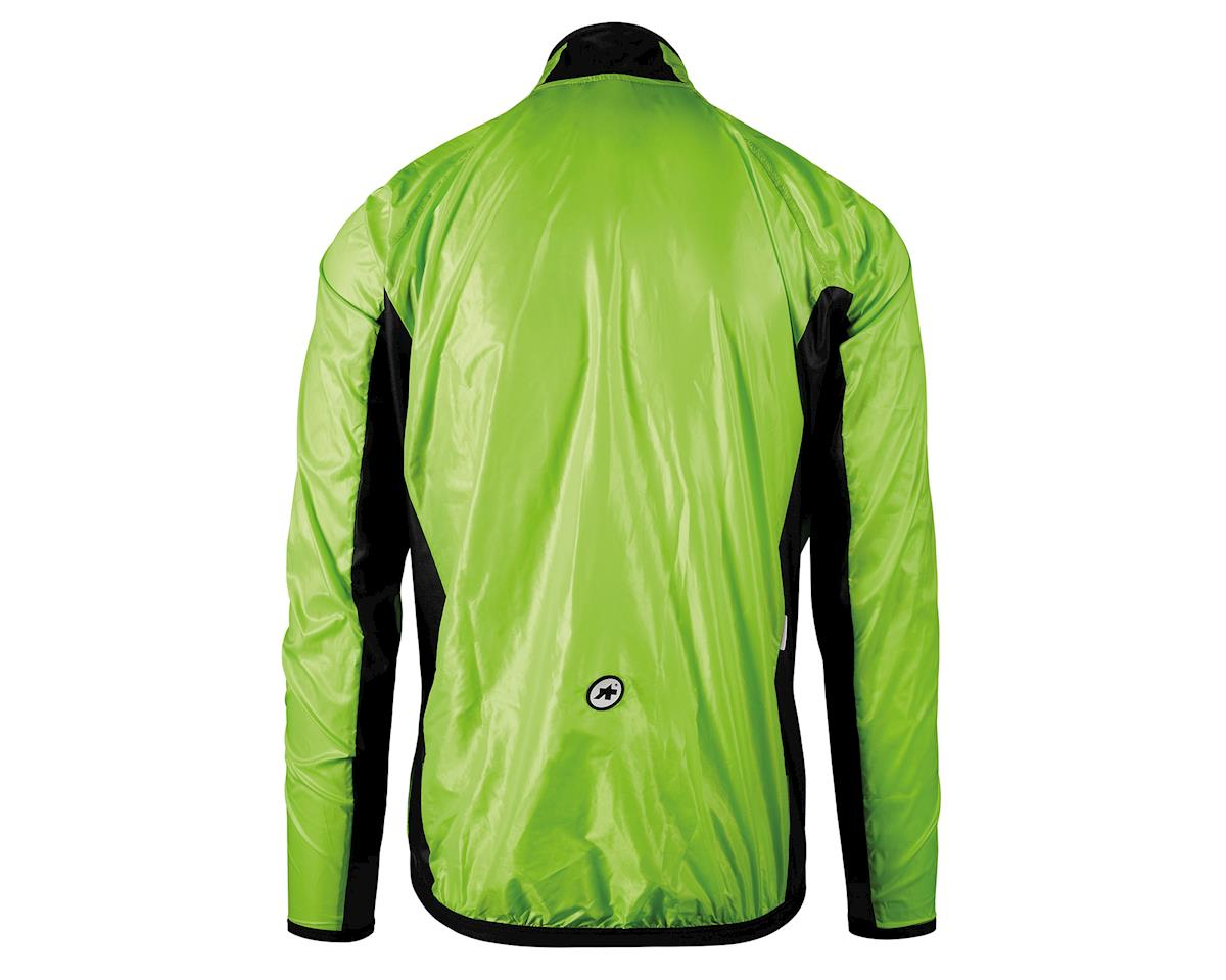 Assos Mille GT Men's Wind Jacket (Visibility Green) (XL)