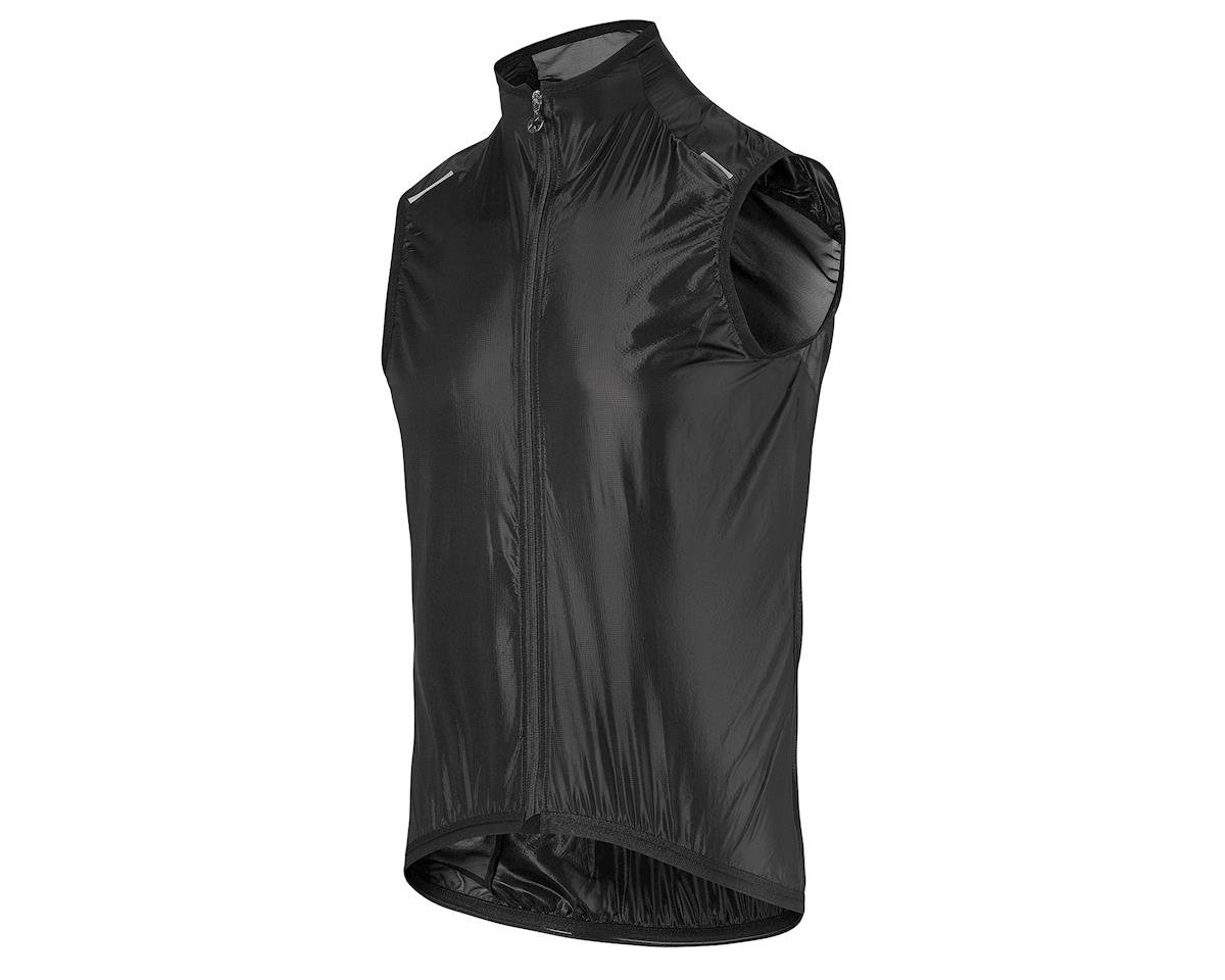 Assos sV.blitzFeder Men's Shell Vest (Black Series)